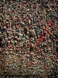 Parete famosa della gomma di Seattle Fotografie Stock