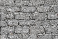 Parete fatta dei blocchi in calcestruzzo Fotografia Stock