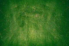 Parete-fondo d'annata e struttura con i grandi dettagli Parete verde in pittura fotografia stock