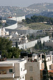 Parete Gerusalemme di separazione Immagini Stock