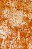 Parete gialla del fango Fotografia Stock