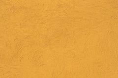 Parete gialla di calcestruzzo con Fotografie Stock