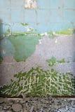 parete graffiata sporca Fotografie Stock
