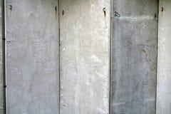 Parete grigia del cemento Fotografie Stock Libere da Diritti