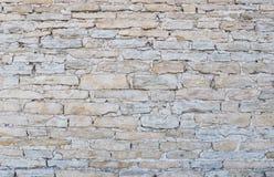 Parete grigio chiaro del calcare Fotografia Stock Libera da Diritti