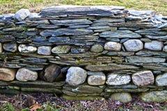 Parete immaginativa della roccia Fotografia Stock