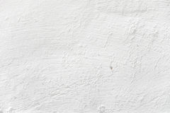 Parete intonacata bianca Fotografia Stock Libera da Diritti