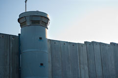 Parete israeliana di separazione Immagine Stock