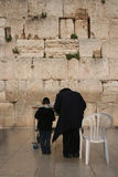 Parete lamentantesi, Gerusalemme 2 Immagine Stock Libera da Diritti