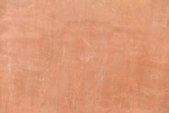 Parete marrone in bianco del cemento Fotografie Stock