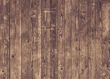 Parete marrone naturale di legno del granaio Modello del fondo di struttura della parete fotografie stock
