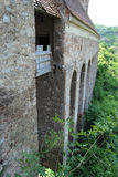 Parete medievale della fortezza Fotografia Stock Libera da Diritti