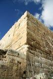 Parete occidentale di Gerusalemme Fotografia Stock