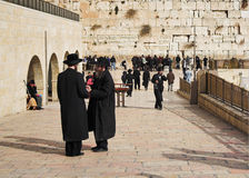 Parete occidentale a Gerusalemme Fotografia Stock