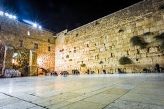 Parete occidentale, Gerusalemme, Israele Fotografie Stock