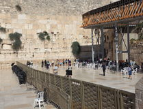 Parete occidentale, Gerusalemme, la sezione delle donne Fotografia Stock
