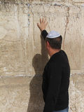 Parete occidentale (parete lamentantesi) Gerusalemme Immagini Stock
