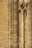 Parete Oxford Inghilterra dell'istituto universitario della chiesa del Christ Fotografia Stock Libera da Diritti