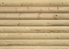 Parete rivestita dai bordi di legno Immagini Stock