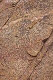 Parete rocciosa naturale piana del lato di una montagna Immagine Stock