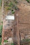 Parete romana antica Immagini Stock