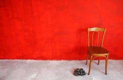 Parete rossa fotografia stock libera da diritti