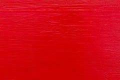 Parete rossa Fotografie Stock