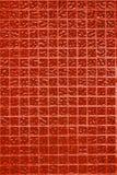 Parete rossa delle mattonelle della foto o del mattone reale di alta risoluzione senza cuciture e struttura di fondo interno Fotografie Stock