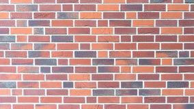Parete rossa di brickstone - orientamento paesaggio Immagine Stock Libera da Diritti
