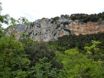 Parete San Paolo в зоне скалолазания arco Стоковые Фотографии RF