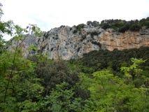 Parete San Paolo nell'area di arrampicata di arco Fotografie Stock Libere da Diritti
