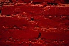 Parete saturata con pittura rossa fotografia stock libera da diritti