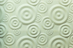 Parete a spirale di bianco dell'ondulazione Immagine Stock
