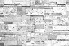 Parete strutturata in bianco e nero delle mattonelle con illuminazione dalla cima Immagine Stock Libera da Diritti