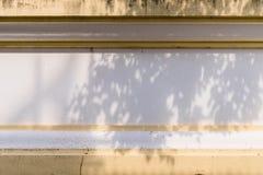 Parete tailandese del cemento di stile per fondo Fotografia Stock