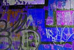Parete urbana dei graffiti immagine stock libera da diritti
