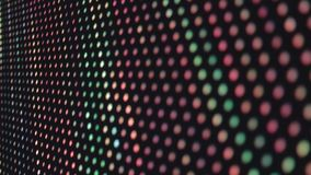 Parete variopinta della luce del LED al night-club, fondo del video musicale archivi video