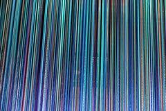 Parete variopinta fatta dei colori differenti Fotografia Stock