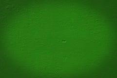Parete verde Immagini Stock