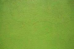 Parete verde Fotografia Stock Libera da Diritti