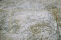 Parete vuota del cemento di lerciume, stile della parete del sottotetto Stile interno del sottotetto parete in bianco per fondo Immagine Stock