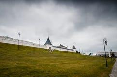 Pareti bianche del monumento Fotografia Stock Libera da Diritti