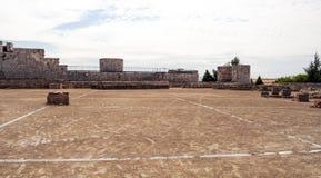 Pareti del castello di Burgos   Fotografia Stock Libera da Diritti