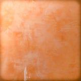 Pareti del gesso di Brown e pavimenti di legno Fotografia Stock