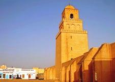 Pareti del Medina di Kairouan - la Tunisia Immagini Stock