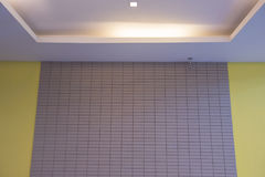 Pareti dell'hotel e CCTV Fotografie Stock