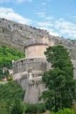 Pareti della città di Dubrovnik Fotografia Stock Libera da Diritti