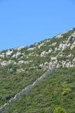Pareti della difesa di Ston - Dalmazia, Croazia Fotografia Stock