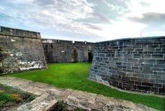 Pareti della fortezza Fotografie Stock