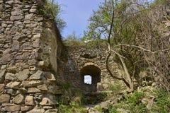 Pareti della fortezza medievale di Bologa Immagine Stock Libera da Diritti